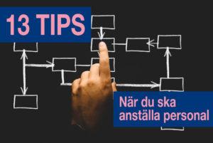 13 tips när du ska rekrytera personal